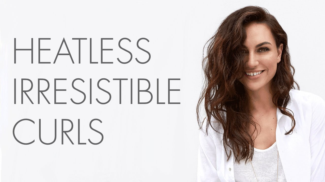 How to: So Pure Healthy Hairstyles - Heatless Irresistible Curls ...