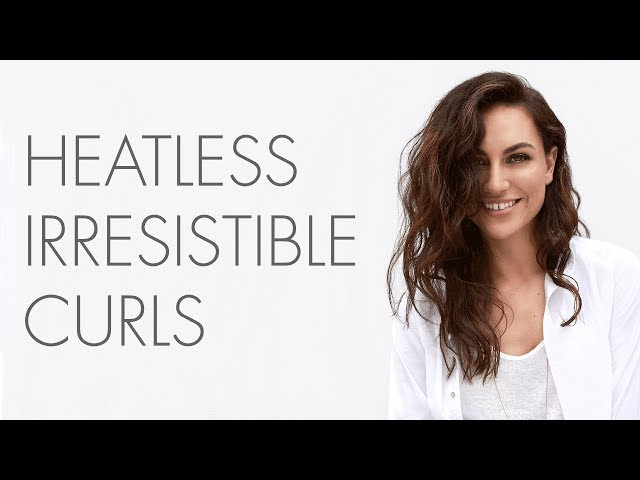 How to: So Pure Healthy Hairstyles - Heatless Irresistible Curls