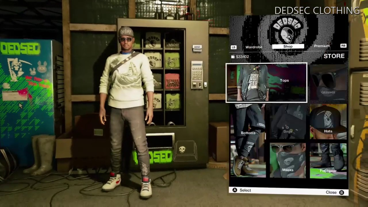 Watch Dogs 2 New Dedsec Clothing Update Youtube