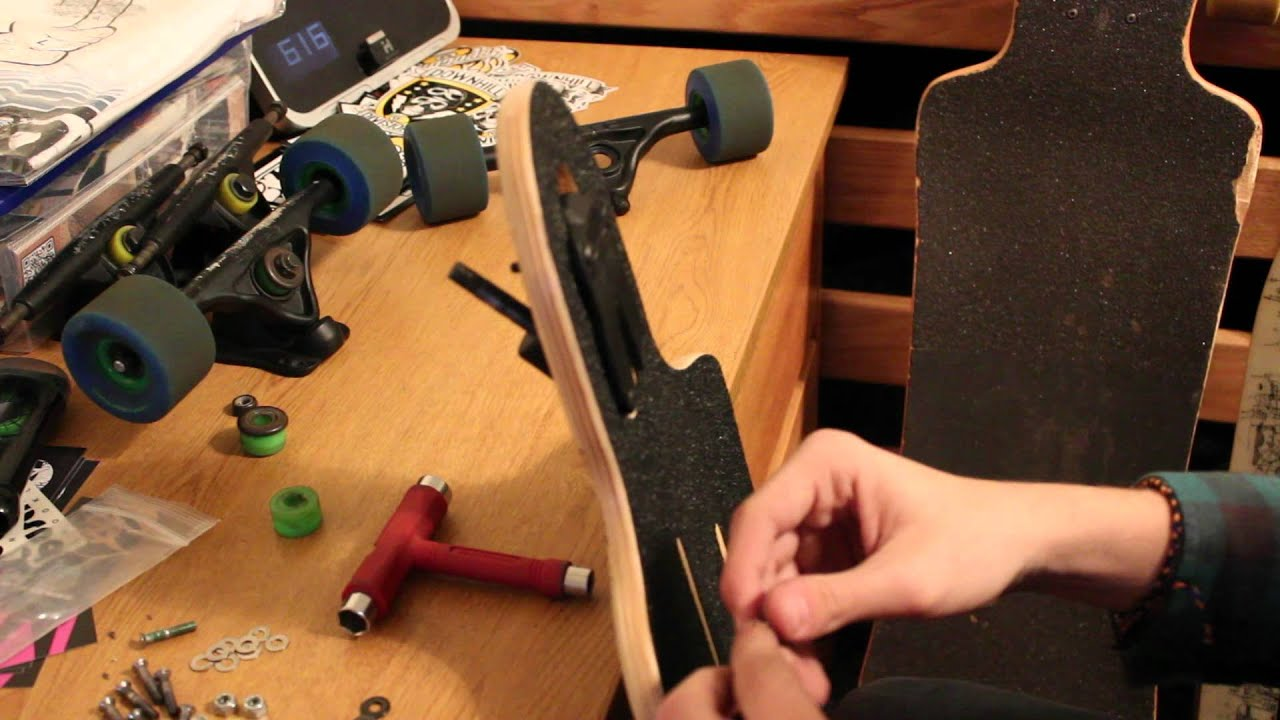How-To Assemble Your Longboard Truck - YouTube