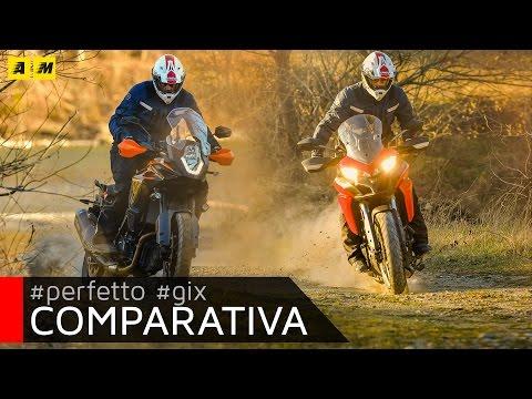 Ducati Multistrada 950 vs KTM 1090 Adventure. TEST MAXIENDURO! [ENGLISH SUB]