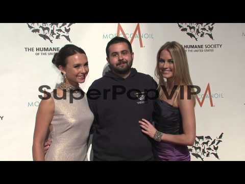 Georgina Bloomberg and Amber Hearst at The Humane Society...