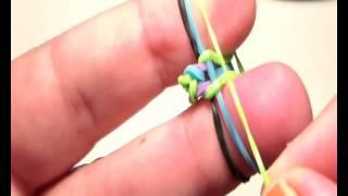 Repeat youtube video como hacer pulsera de gomas rainbow loom con los dedos  muy facil  ESPAÑA