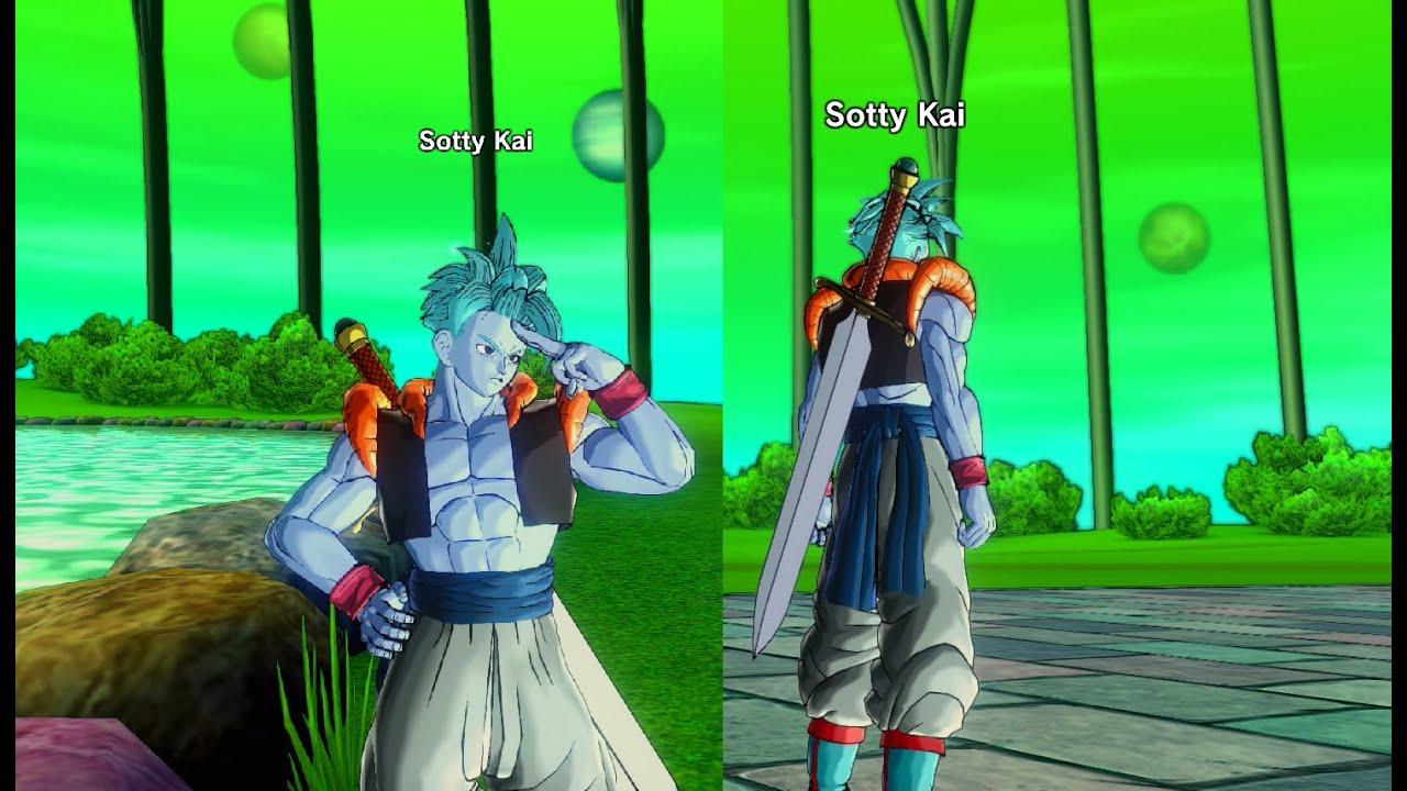 Dragon Ball Xenoverse Gogeta\u0027s clothes PQ (DLC)