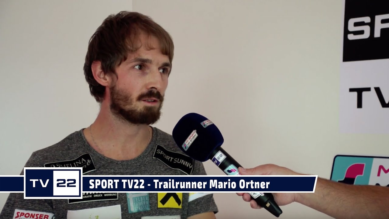 SPORT TV22:  Trailrunner Mario Ortner im exklusiven Interview