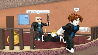 ROBLOX Murder Mystery 2 Funny Moments (TRICKSHOT)
