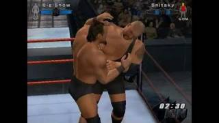 WWE SmackDown vs. Raw 2006 PlayStation 2 Gameplay - The