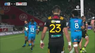 2017 Super Rugby Rd 14: Blues v Chiefs 2017 Video