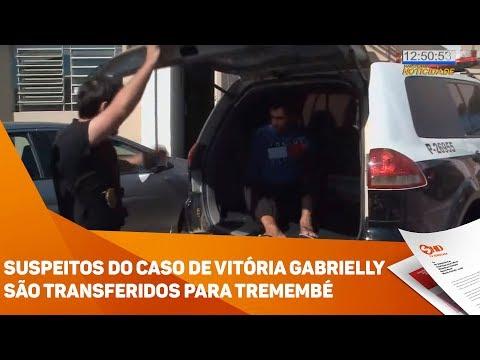 Suspeitos do caso de Vitória Gabrielly são transferidos para Tremembé - TV SOROCABA/SBT