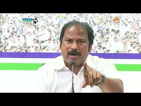 Chandrababu is violating the democracy framed by Dr.B.R.Ambedkar Says YSRCP Leader TJR Sudhakar babu