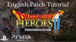 Dragon Quest Heroes II in English PSVita