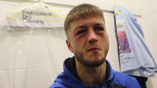 'DEVASTATING' - MARCO McCULLOUGH REACTS TO A DISAPPOINTING BRITISH TITLE DEFEAT TO RYAN WALSH