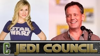"Star Wars Rebels ""Ahsoka Tano"" & ""Captain Rex"" Ashley Eckstein and Dee Bradley Baker Interview"
