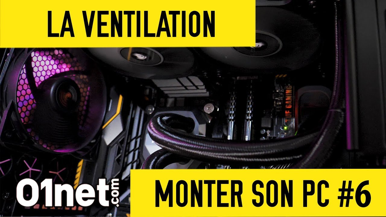 Branchement de ventilateur de PC