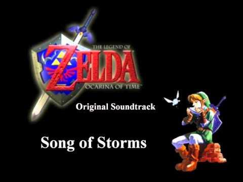 Zelda Original Soundtrack - Song of Storms