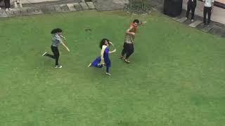 Jimmiki Kammal Fame sheril dance at rajagiri
