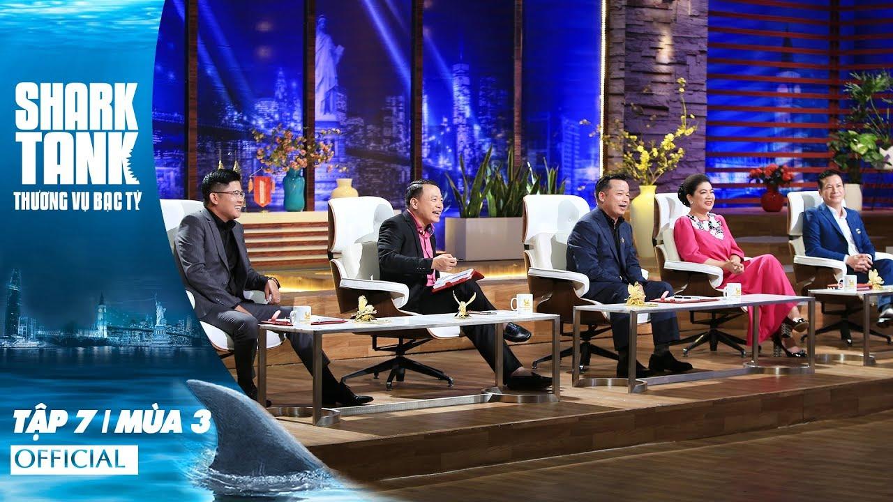 Shark Tank Việt Nam Tập 7 | Mùa 3 | Startup Táo Bạo, Tự Tin Với Thị Trường Tiềm Năng Chưa Khai Thác