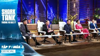 Shark Tank Việt Nam : Thương Vụ Bạc Tỷ Mùa 3 Tập 7 Full HD