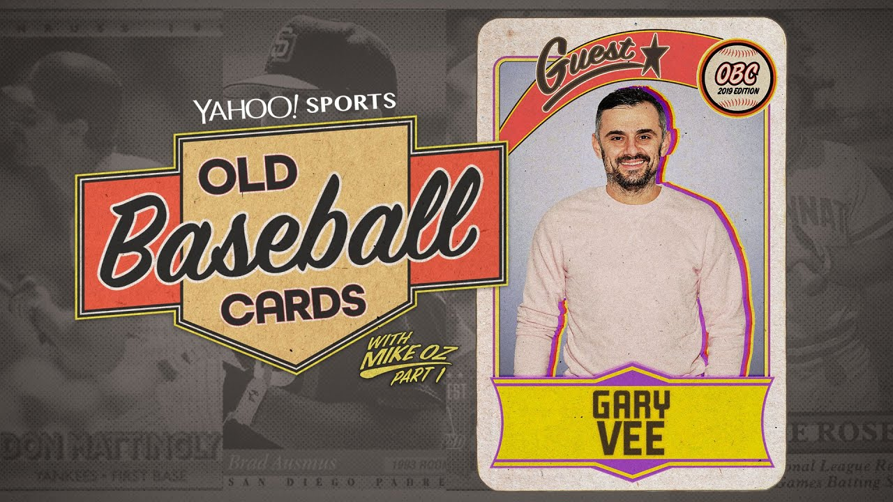 Gary Vee Pt1 Finds Pro Wrestling Lookalikes Eats 30 Year Old Gum Old Baseball Cards