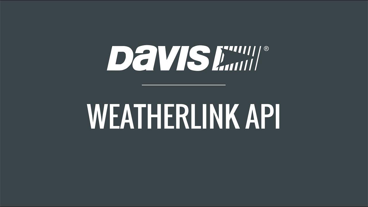 What's New: WeatherLink com | Davis Instruments