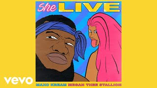 Download Maxo Kream - She Live (Audio) ft. Megan Thee Stallion Mp3 and Videos