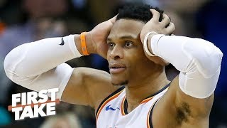 Russell Westbrook\'s legacy took a \'devastating blow\' with playoff exit - Stephen A. | First Take