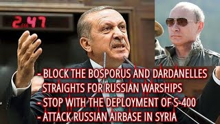 BREAKING! Turkey & Russia On The Brink Of War! Erdogan Calling NATO To Enter Idlib And No-Fly Zone!