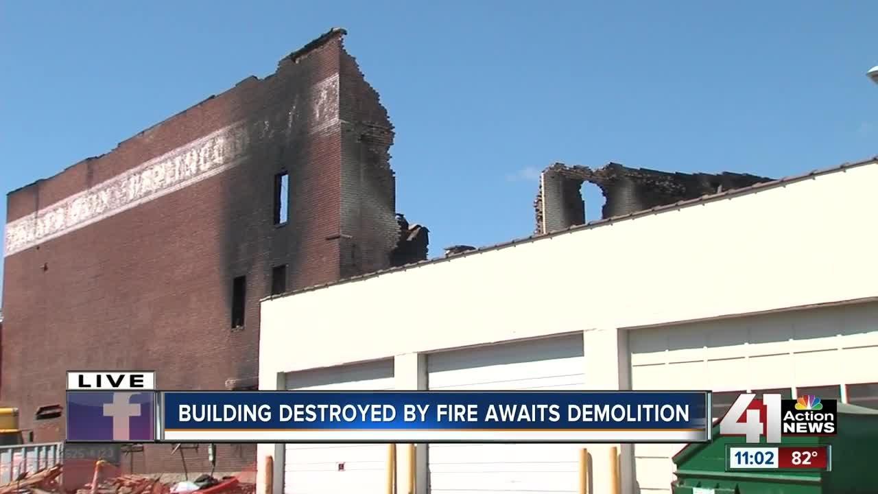 Furniture store building - Owner Looks To Demolition After Massive Furniture Store Fire Destroys Buidling
