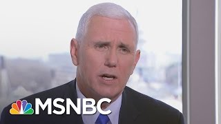 VP-elect Mike Pence Looks Ahead to Donald Trump