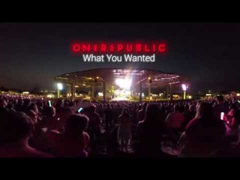 OneRepublic - What You Wanted (Live) Klipsch Music Center Indianapolis, IN 8/3/2014
