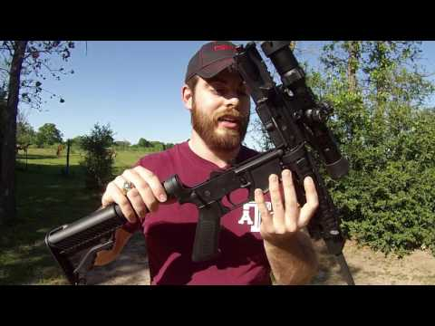DPMS AR-15 Shooting/Review
