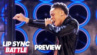 "Rotimi Channels Usher for ""Nice and Slow"" 