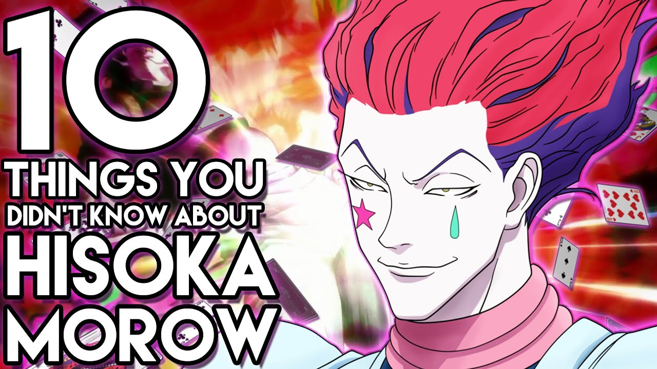 10 things you probably didn 39 t know about hisoka morow 10 facts hunter x hunter hxh youtube. Black Bedroom Furniture Sets. Home Design Ideas
