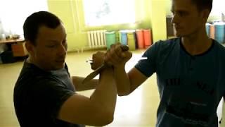Андрей Сложинский. Ножевой бой Брэма Франка - обучение в Крыму