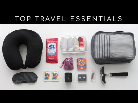 Top Travel Essentials | Must-Have Travel Accessories And Products