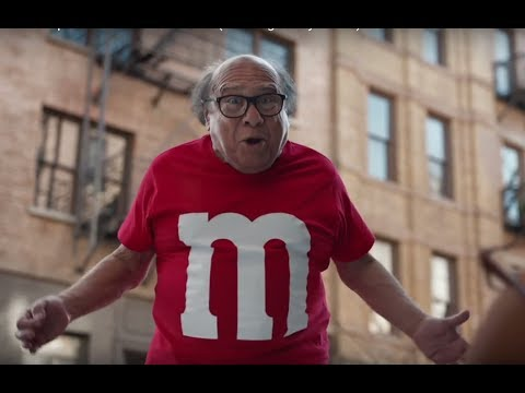 M&M's Super Bowl Commercial 2018 Danny DeVito Human