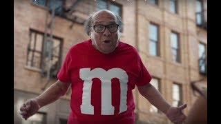 M&M's Super Bowl Commercial 2018 Danny DeVito Human