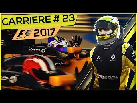 F1 2017 (FR) - Mode Carrière #23 - Le périple dans le désert