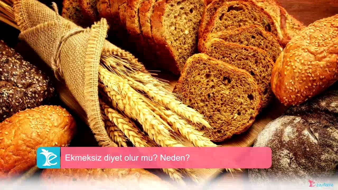 Ekmeksiz diyet olur mu