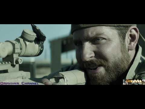 Крис Убивает Снайпера Мустафу ... отрывок из фильма (Снайпер/American Sniper)2014