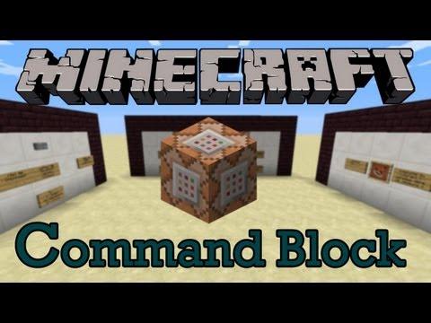 Tout sur le Command Block - Partie I : Les bases