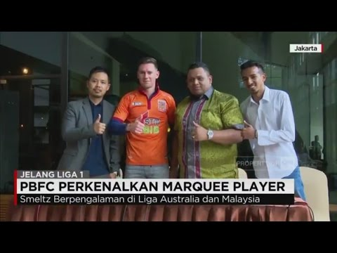 PBFC Perkenalkan Marquee Player; Shane Smeltz