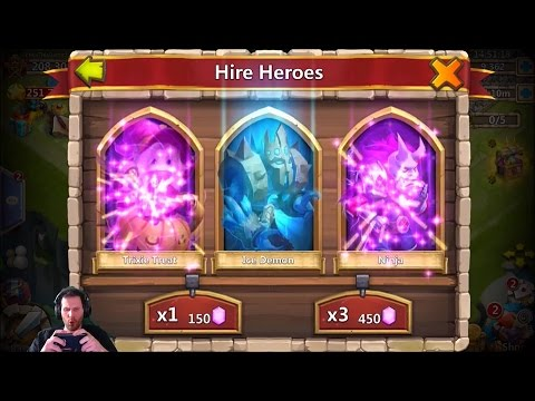 Rolling 25,000 Gems For Anubis + IOS Events Castle Clash