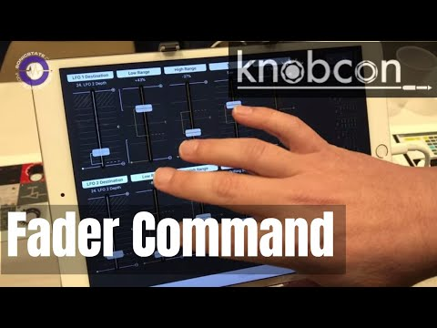 Knobcon 2019: AppsbyDenis Fader Command - Programmable MIDI Controller