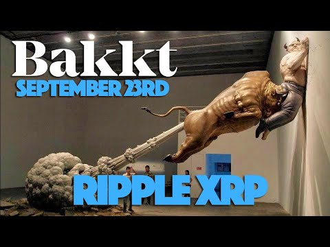 Ripple XRP: What Will Happen To XRP & Bitcoin When Bakkt Goes Live On Sep 23?