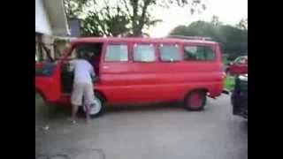 1968 dodge a100 van barn find