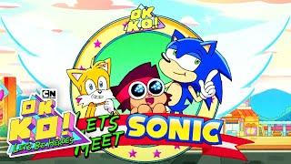 Sonic girin Hedgehog | İlk ö. GDM 2019 | TAMAM K. O. Görünüyor. | Cartoon Network