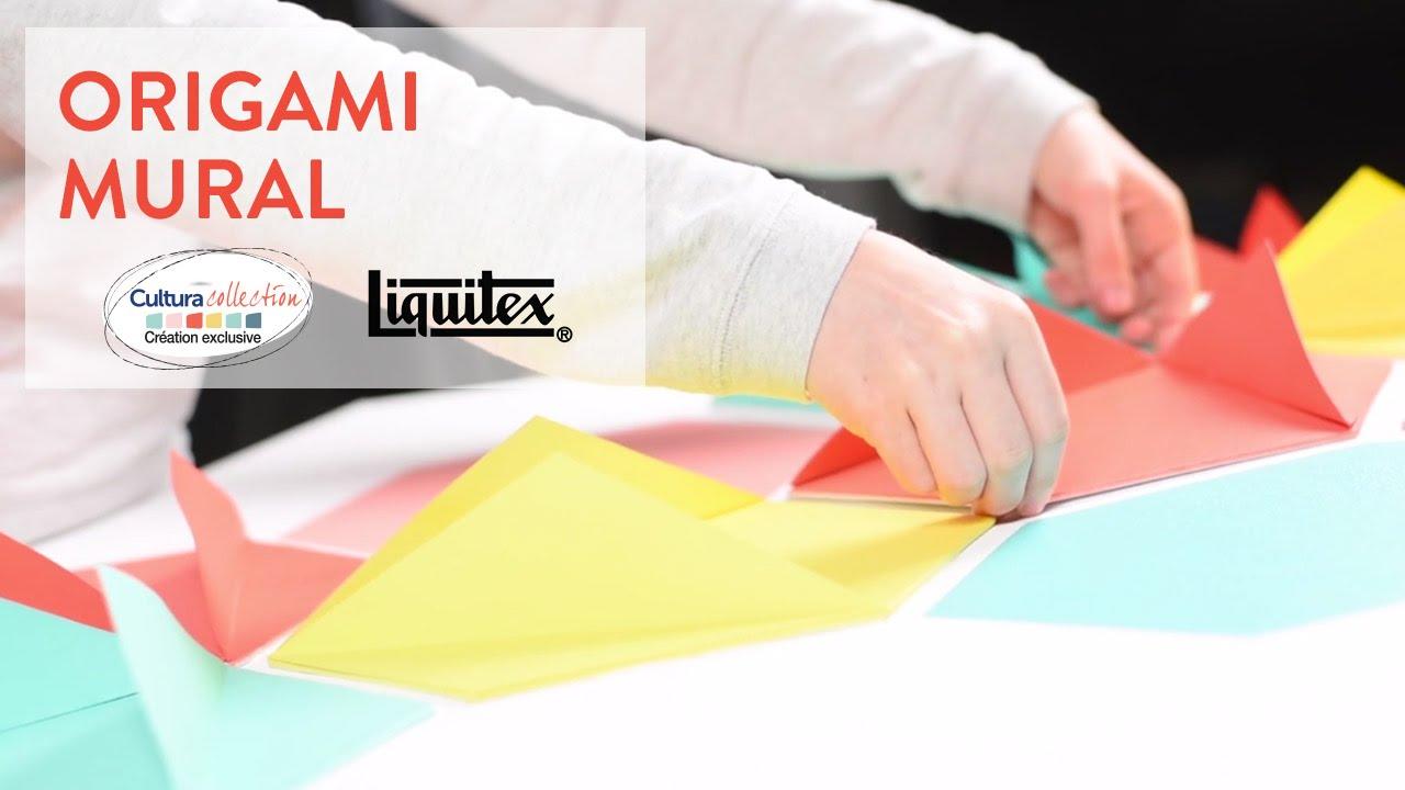 Tutoriel DIY : Réalisez un origami mural - Cultura Creativ 2016 ...