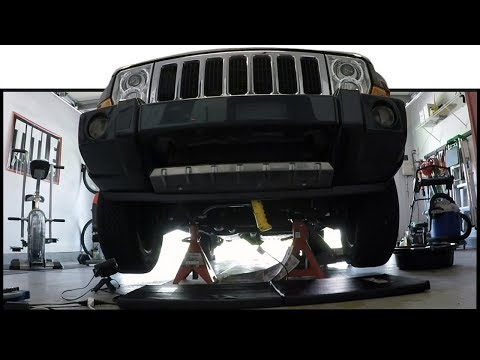Jeep Commander Front Crossmember Lifting Tutorial