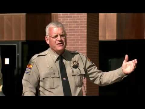 FULL: AZ trooper ambushed & Good Samaritan says God put him there to save trooper